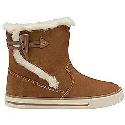 Gola Classics - Chestnut 'Sidewalk' suede ladies boots