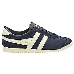 Gola - Navy and off white 'Bullet Suede' ladies trainers