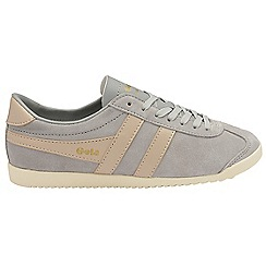 Gola - Light grey 'Bullet Suede' ladies trainers