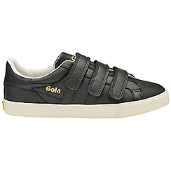 Gola Classics - Black 'Orchid shimmer velcro' ladies trainers