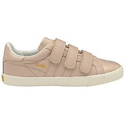 Gola Classics - Blush pink 'Orchid shimmer velcro' ladies trainers