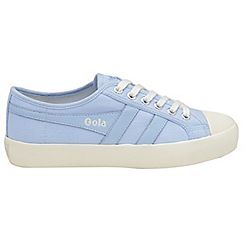 Gola Classics - Pastel blue and off white 'Coaster' ladies trainers
