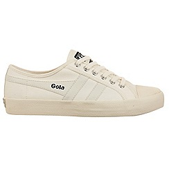 Gola - Off white and off White 'Coaster' ladies trainers
