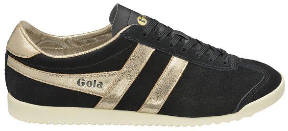 Black and trainers ladies Gola gold Classics Mirror' 'Bullet vEwq5x