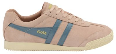 Gola Classics - Blush pink and Indian teal 'Harrier Suede' trainers