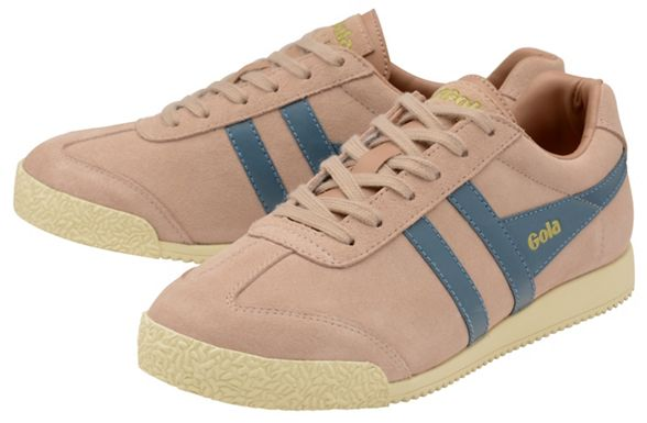 and trainers Classics Blush teal Gola Suede' Indian pink 'Harrier PTFwqx4