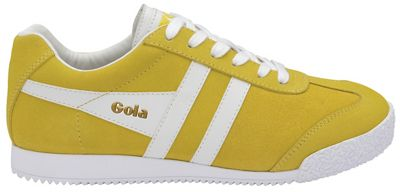 Gola Classics - Yellow and white 'Harrier Suede' trainers