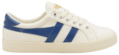 Gola Classics - Off white and vintage blue 'Mark Cox' ladies trainers