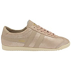 Gola Classics - Pink 'Bullet glitter' ladies lace up trainers