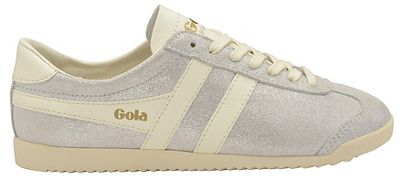 Gola Classics - Off white 'Bullet Glitter' ladies lace up trainers