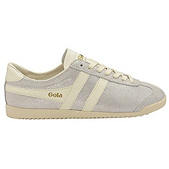 Gola - Off white 'Bullet Glitter' ladies lace up trainers