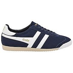 Gola - Navy and white 'Harrier 50 Suede' ladies trainers