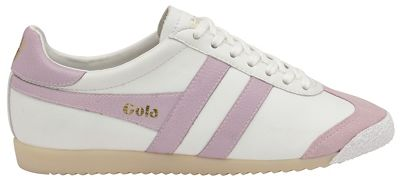 Gola Classics - White and pink 'Harrier 50 Leather' ladies trainers