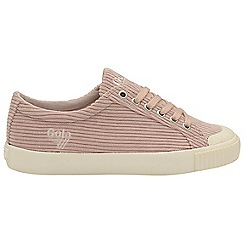 Gola Classics - Blossom and off white 'Tiebreak cord' ladies trainers
