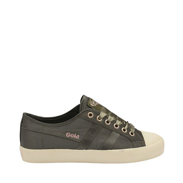 Gola Khaki Off White 'Coaster Satin' and Classics ladies trainers rrqRwUg