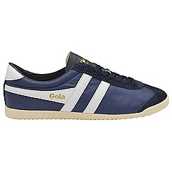 Gola - Navy and white 'Bullet Nylon' mens trainers