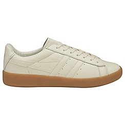 Gola - Off white 'Aztec Leather' mens trainers