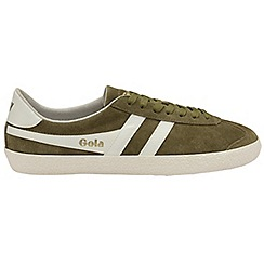 Gola - Light Khaki and off white 'Specialist' mens trainers