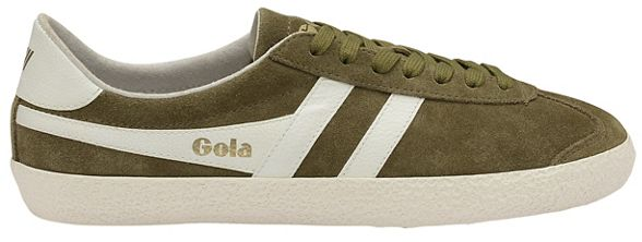 Classics mens Gola Light 'Specialist' white off trainers Khaki and RdPpdq0w