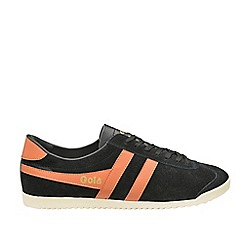 Gola - Black 'Bullet Suede' mens trainers