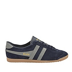 Gola Classics - Navy 'Bullet suede' mens trainers