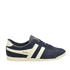 Gola Classics - Navy and off white 'Bullet suede' mens trainers