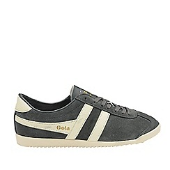 Gola Classics - Graphite and off white 'Bullet suede' mens trainers