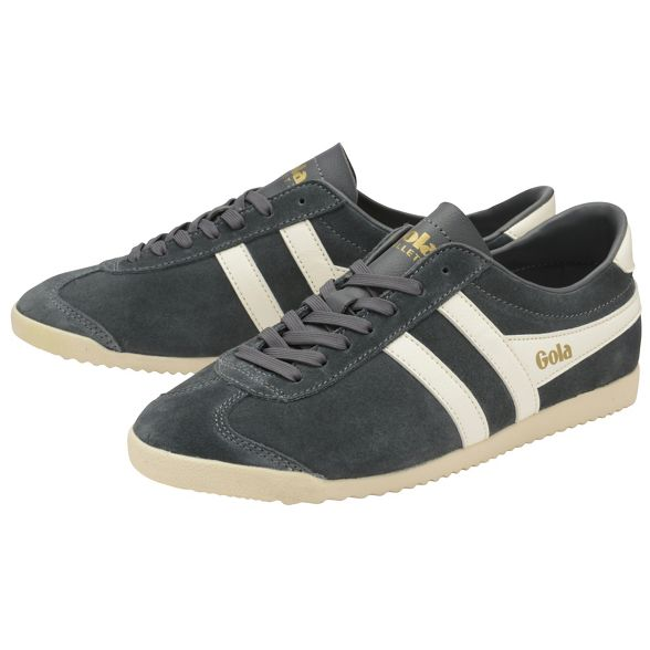 Off trainers and Graphite mens 'Bullet Classics White Gola Suede' tT6qgwSx