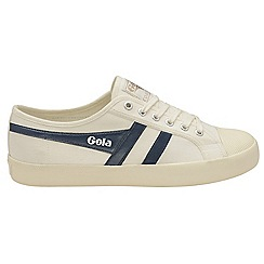 Gola - Off White and navy 'Coaster' mens trainers