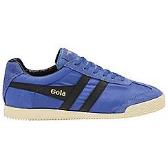 Gola Classics - Blue 'Harrier nylon' mens trainers