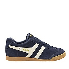 Gola Classics - Navy and off white 'Harrier suede' mens trainers