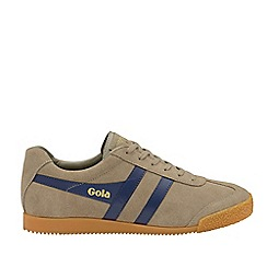 Gola Classics - Rhino and Navy 'Harrier Suede' Mens Trainers