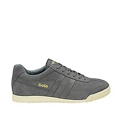 Gola Classics - Grey 'Harrier suede' mens trainers