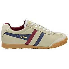 Gola - Off white 'Harrier Leather' mens trainers