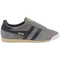 Gola Classics - Ash and navy 'Harrier 50 suede' mens trainers