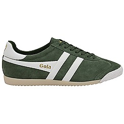 Gola - Green 'Harrier 50 Suede' mens trainers
