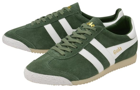 mens 50 Classics Suede' Green trainers Gola 'Harrier qtOwXx76