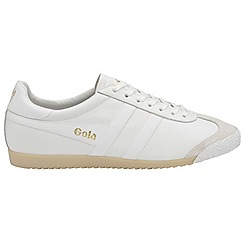 Gola Classics - White 'Harrier 50 leather' mens trainers