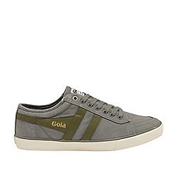 Gola Classics - Grey and Khaki 'Comet' Mens Plimsolls