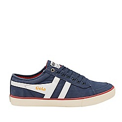 Gola Classics - Navy and White 'Comet' Mens Plimsolls