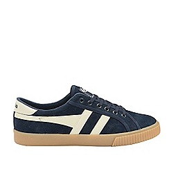 Gola Classics - Navy and White 'Tennis Mark Cox Suede' Mens Trainers