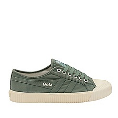Gola Classics - Sage and Off White 'Cadet' Mens Plimsolls