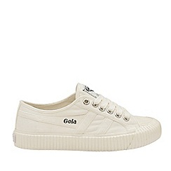 Gola Classics - Off White and Off White 'Cadet' Mens Plimsolls