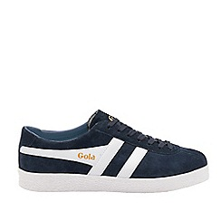 Gola Classics - Navy and White 'Trainer Suede' Mens Trainers