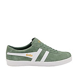 Gola Classics - Sage and White 'Trainer Suede' Mens Trainers