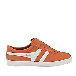 Gola Classics - Moody Orange and White 'Trainer Suede' Mens Trainers