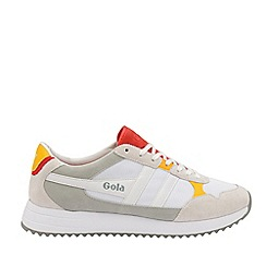 Gola Classics - White and Red and Sun 'Toronto' Mens Trainers