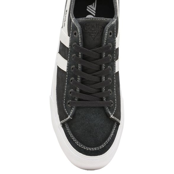 Gola Classics II' up lace 'Quota and White mens plimsolls Black r6farqx1
