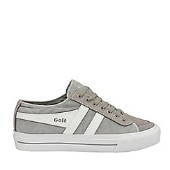 Gola Classics - Light Grey and White 'Quota Ii' Mens Trainers