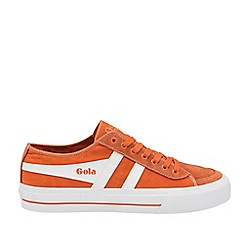 Gola Classics - Moody Orange and White 'Quota Ii' Mens Trainers